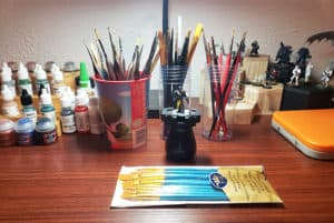Best Paint Brushes for Miniatures