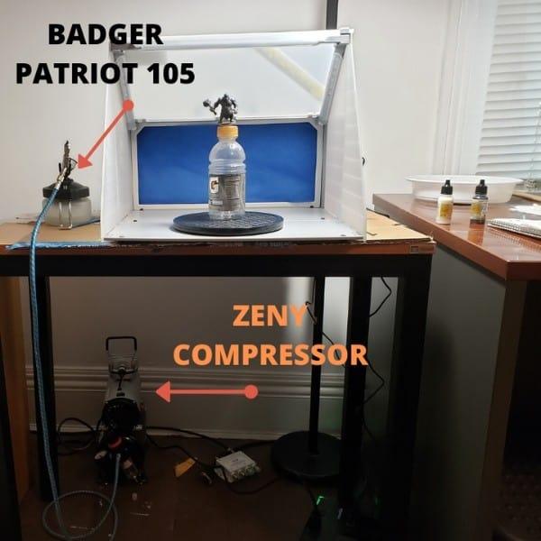 My Airbrush and Compressor Setup