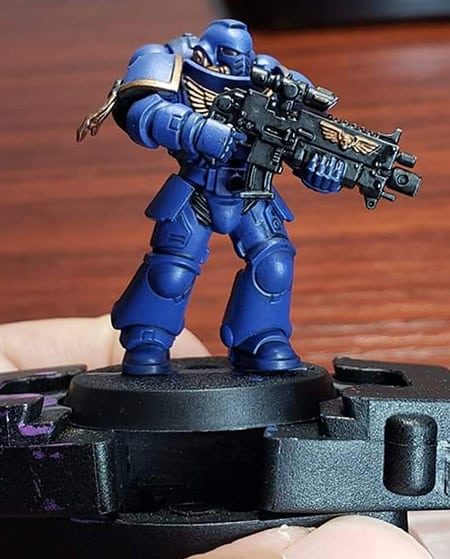 Painted Space Marine