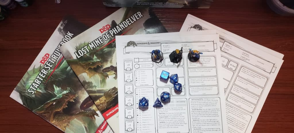 Learn how to start playing D&D