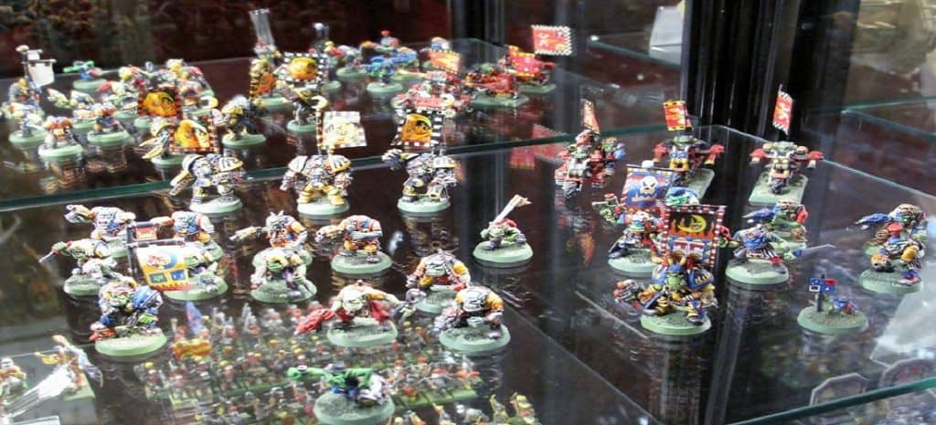 an army of miniatures