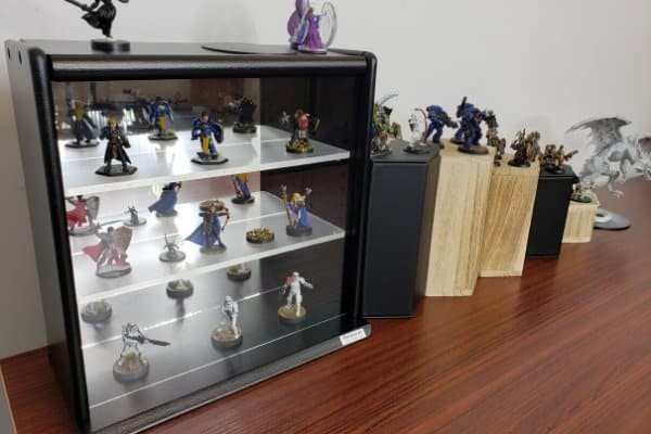 This is one of my current display cases for my miniatures