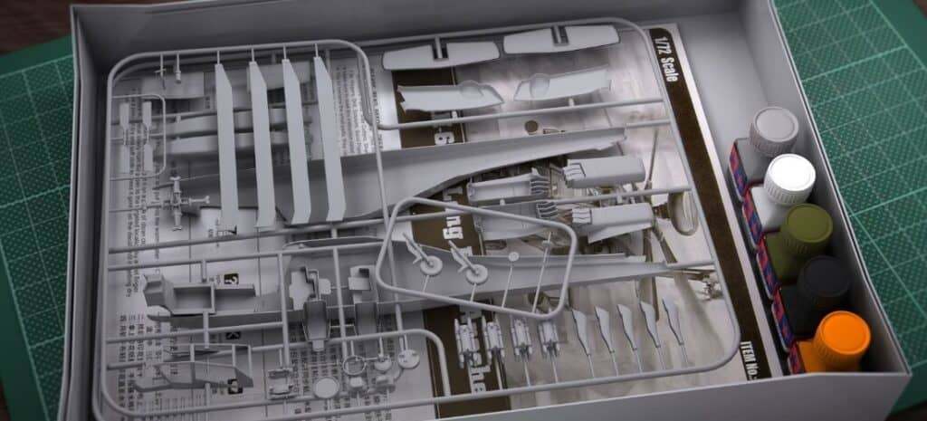 Plastic Model Airplane Kit 1_72 Scale