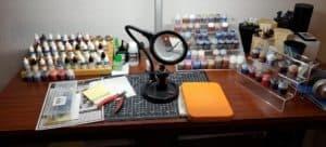 Hobby Desk Setup