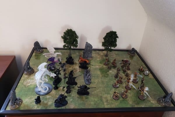 This is my current gaming surface for tabletop RPGs