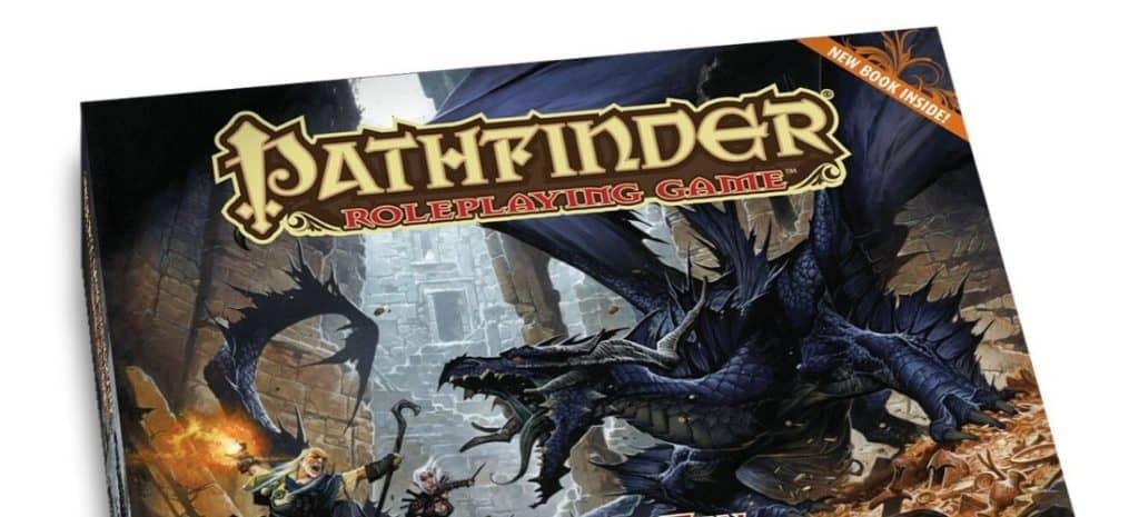 Beginner box set for the RPG Pathfinder