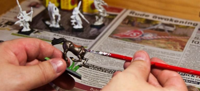 Painter Painting Minatures