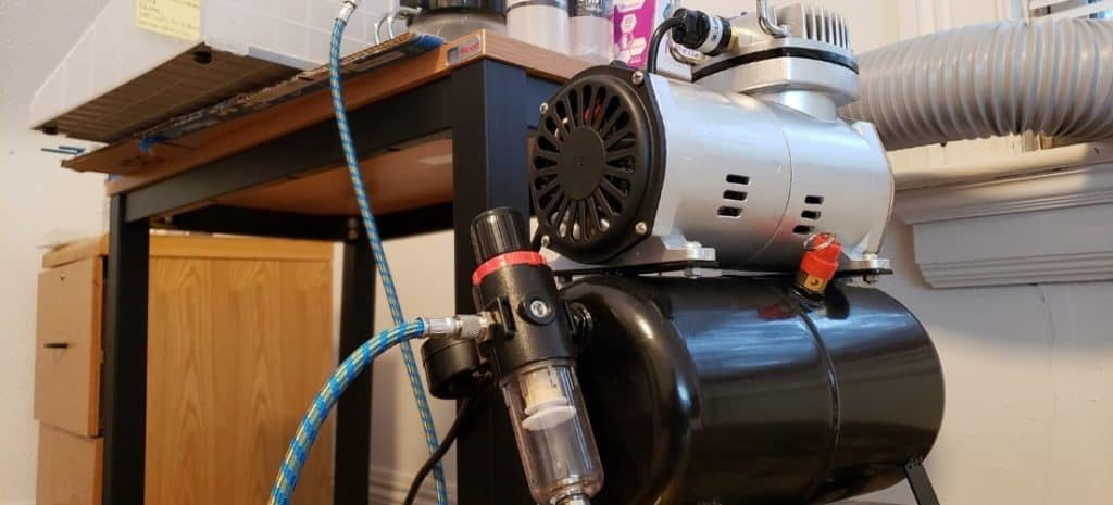 My Mini Painting Compressor