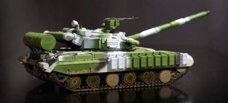 Finished Model Tank Kit