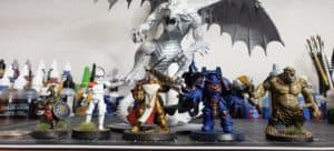 Miniatures Arranged by Size