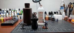 The things you need to strip acrylic paint from miniatures