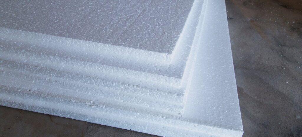 Six sheets of foam board.