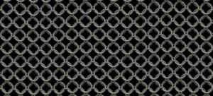A sheet of European 4-in-1 chain mail.
