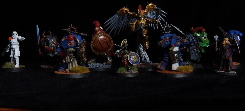 Finished Painted Miniatures