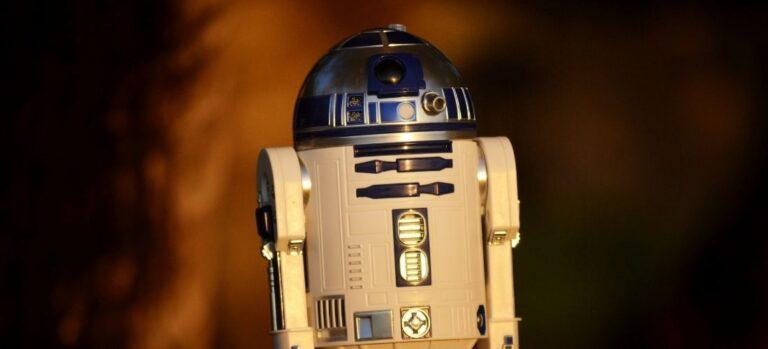 R2-D2 Star Wars Model