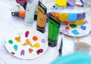 Best Palette For Acrylic Paint