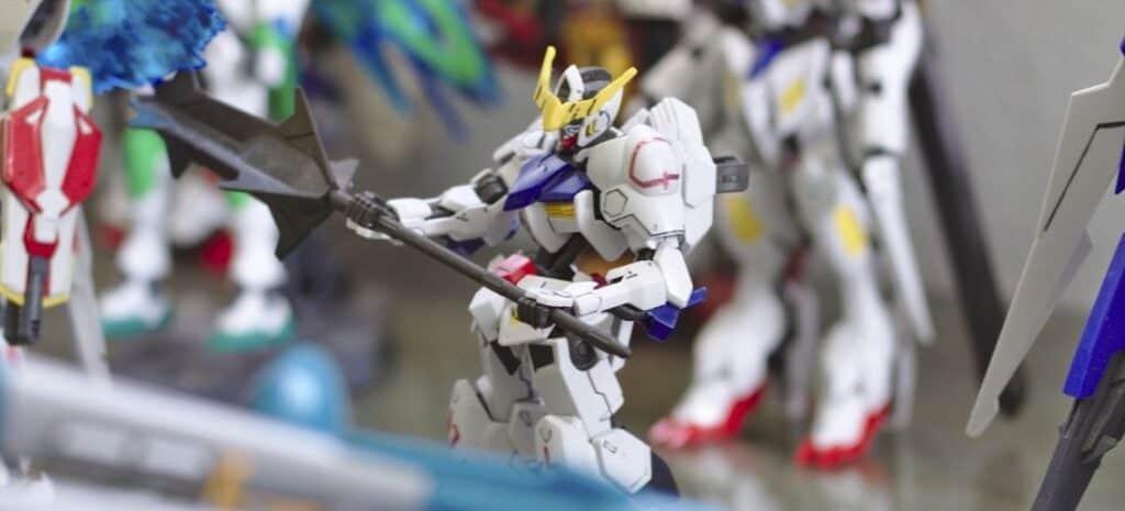 Completed Gundam Barbatos Model Kit