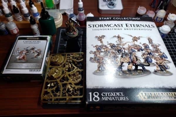Stormcast Eternals Citadel Miniature Set