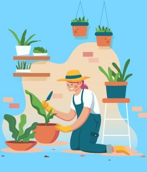 21. Gardening