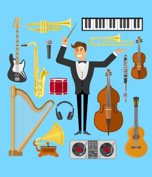 38 Musical Instruments